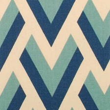 Blue/turquoise Drapery and Upholstery Fabric by Duralee