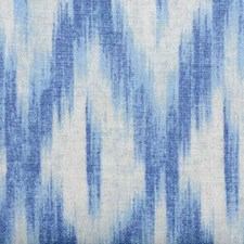 Blue Abstract Drapery and Upholstery Fabric by Duralee
