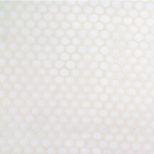White/Ivory Geometric Drapery and Upholstery Fabric by Kravet