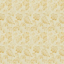 Cashew Floral Drapery and Upholstery Fabric by Trend