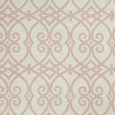 Blush Geometric Drapery and Upholstery Fabric by Trend