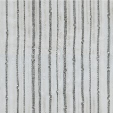 White/Silver/Charcoal Stripes Drapery and Upholstery Fabric by Kravet