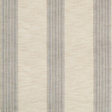 Grey/Blue/Light Grey Stripes Drapery and Upholstery Fabric by Kravet