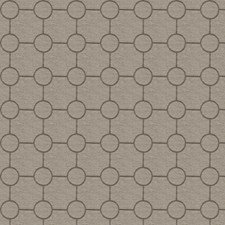 Taupe Embroidery Drapery and Upholstery Fabric by Trend