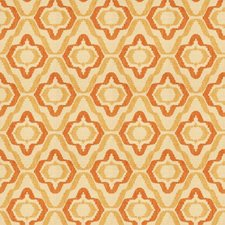 Citrus Geometric Drapery and Upholstery Fabric by Vervain