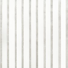 White/Grey/Silver Stripes Drapery and Upholstery Fabric by Kravet