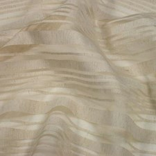 Alabaster Strip Drapery and Upholstery Fabric by B. Berger