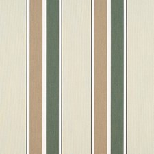 Fern/Heather Beige Block Stripe Drapery and Upholstery Fabric by Sunbrella