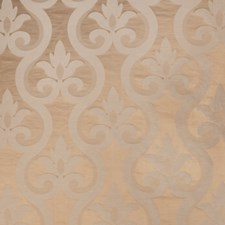Caramel Damask Drapery and Upholstery Fabric by Vervain