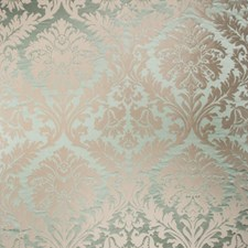 Aloe Damask Drapery and Upholstery Fabric by Vervain