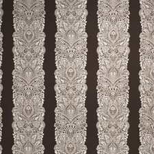Hazelnut Floral Drapery and Upholstery Fabric by Vervain