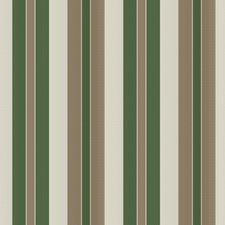 Emerald Stripes Drapery and Upholstery Fabric by Vervain