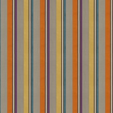 Circus Stripes Drapery and Upholstery Fabric by S. Harris