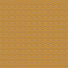 Goldenrod Geometric Drapery and Upholstery Fabric by S. Harris