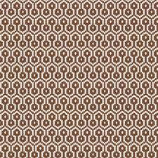 Mink Geometric Drapery and Upholstery Fabric by Fabricut