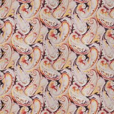 Carnival Paisley Drapery and Upholstery Fabric by Vervain