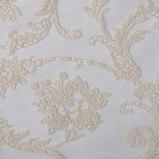 Almond Floral Large Drapery and Upholstery Fabric by Duralee