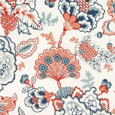 Red Drapery and Upholstery Fabric by Robert Allen /Duralee