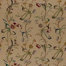 Chamois/Multi Drapery and Upholstery Fabric by Schumacher