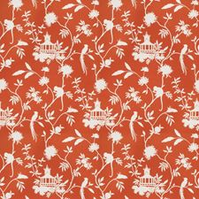Orange Global Drapery and Upholstery Fabric by Trend