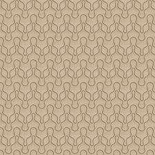 Bronze Embroidery Drapery and Upholstery Fabric by Vervain