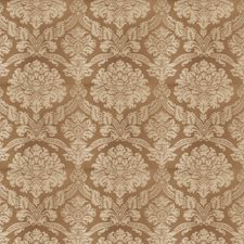 Nude Damask Drapery and Upholstery Fabric by Stroheim