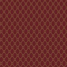 Garnet Lattice Drapery and Upholstery Fabric by Stroheim