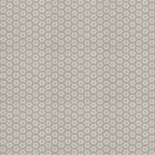 Grey Geometric Drapery and Upholstery Fabric by Stroheim