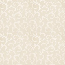 Ivory Jacquard Pattern Drapery and Upholstery Fabric by Trend