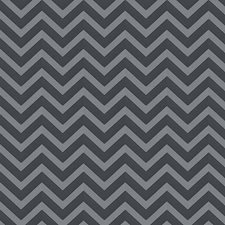 Charcoal Chevron Drapery and Upholstery Fabric by Fabricut