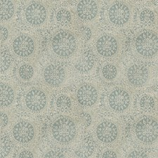 Aqua Contemporary Drapery and Upholstery Fabric by S. Harris