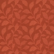 Sienna Leaves Drapery and Upholstery Fabric by Trend
