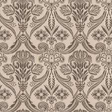 Graphite Damask Drapery and Upholstery Fabric by Fabricut