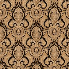 Obsidian Jacobean Drapery and Upholstery Fabric by Fabricut
