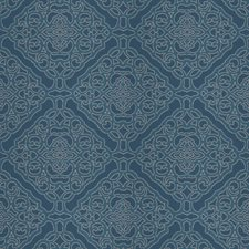 Nautical Lattice Drapery and Upholstery Fabric by Fabricut