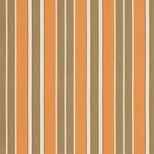 Pumpkin/Mocha/Java Drapery and Upholstery Fabric by Schumacher