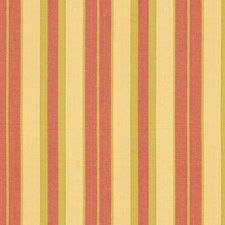 Maize/Pear/Coral Drapery and Upholstery Fabric by Schumacher