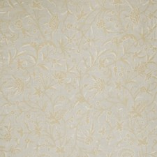 Linen Floral Drapery and Upholstery Fabric by Stroheim
