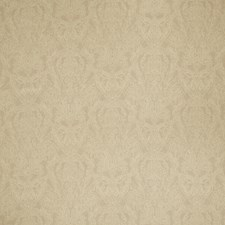 Taupe Paisley Drapery and Upholstery Fabric by Stroheim