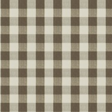 Truffle Check Drapery and Upholstery Fabric by Stroheim