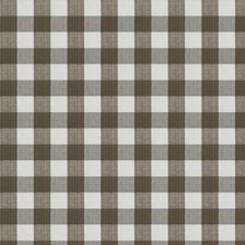 Chestnut Check Drapery and Upholstery Fabric by Stroheim