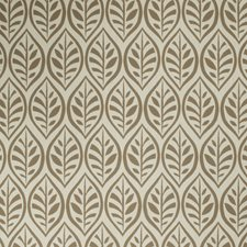 Natural Leaves Drapery and Upholstery Fabric by Stroheim