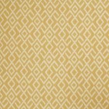 Sunflower Geometric Drapery and Upholstery Fabric by Stroheim