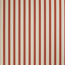 Strawberry Stripes Drapery and Upholstery Fabric by Stroheim