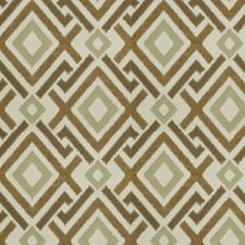 Amber Flamestitch Drapery and Upholstery Fabric by Fabricut