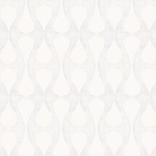 White Geometric Drapery and Upholstery Fabric by Fabricut