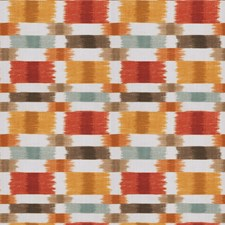 Spice Geometric Drapery and Upholstery Fabric by Fabricut
