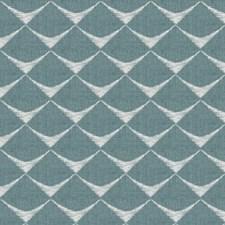 Lagoon Print Pattern Drapery and Upholstery Fabric by Fabricut
