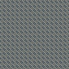 Navy Lattice Drapery and Upholstery Fabric by Fabricut