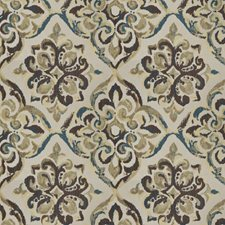 Marine Medallion Drapery and Upholstery Fabric by Trend